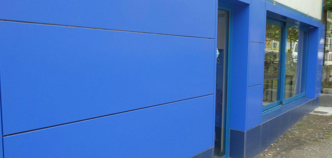 Nuestra oficina con Panel Composite